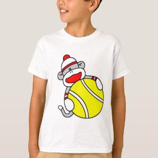 Tennis Sock Monkey T-Shirt