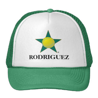 Tennis Star!, RODRIGUEZ Mesh Hats