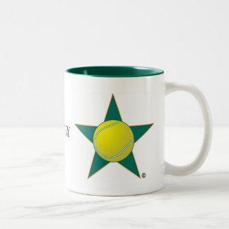 Tennis Star Two-Tone Mug