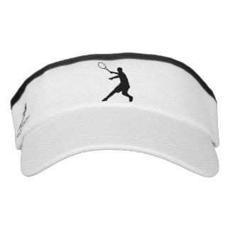 Tennis sun visor cap for player, coach and fan