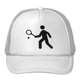 Tennis Symbol Hat