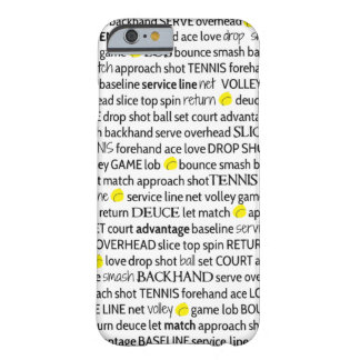 Tennis Terms iPhone 6 Case
