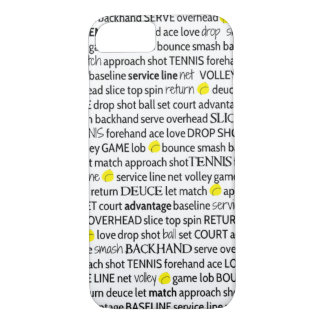 Tennis Terms iPhone 7 Case