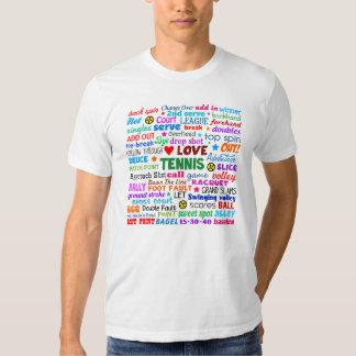 Tennis Terms Shirt