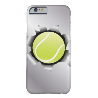 tennis thru metal sheet barely there iPhone 6 case