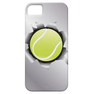 tennis thru metal sheet iPhone 5 cases