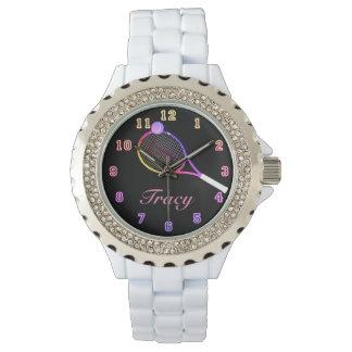 Tennis Time pink Watch