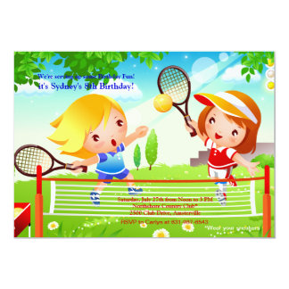 Tennis Tots Invitation