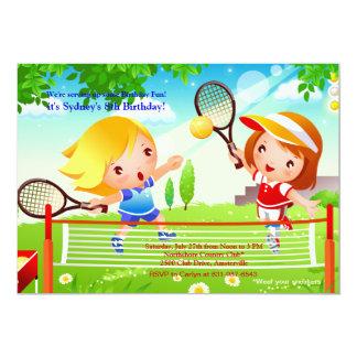 Tennis Tots Invitation