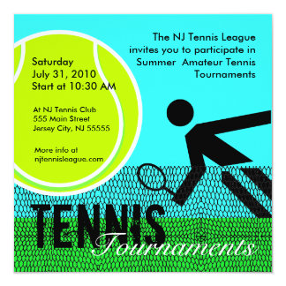 Tennis Tournaments Invitation 1
