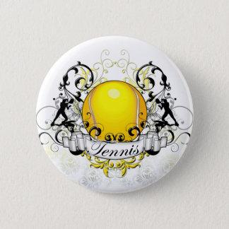 Tennis Tribal 6 Cm Round Badge