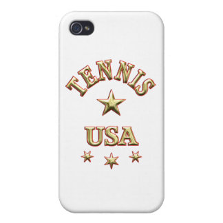 Tennis USA Case For iPhone 4