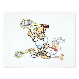 Tennis Winner 11 Cm X 14 Cm Invitation Card