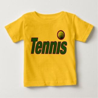 Tennis with Ball Baby T-Shirt
