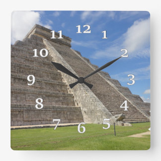 Tenochtitlan Square Wall Clock