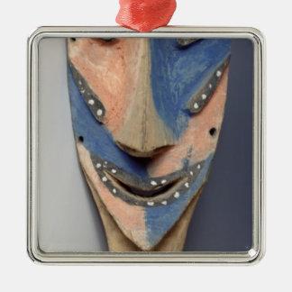 Tenon mask, from Ile de Vao, New Caledonia Christmas Ornament