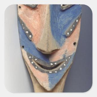 Tenon mask, from Ile de Vao, New Caledonia Stickers