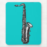 Tenor Saxophone Mouse Pad
