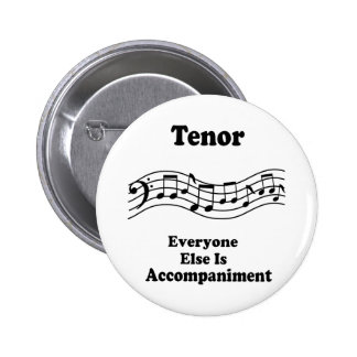 Tenor Singer Gift Buttons