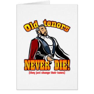 Tenors Card