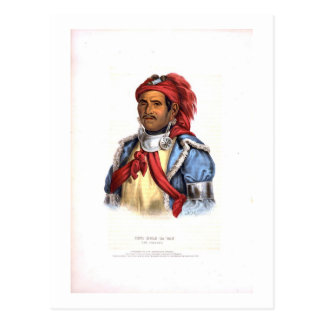 Tens Kwau Ta Waw The Prophet 1838 Post Card