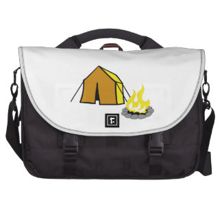 TENT AND CAMPFIRE LAPTOP COMMUTER BAG