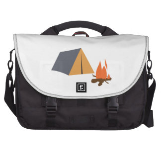TENT AND CAMPFIRE COMPUTER BAG