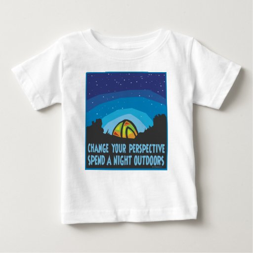 Tent Camping Baby T-Shirt