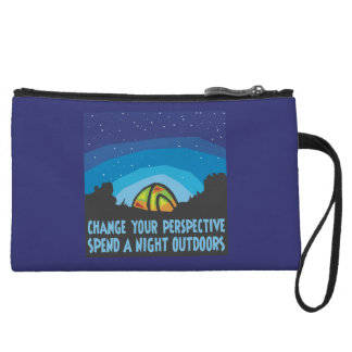 Tent Camping Wristlet Purses