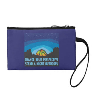 Tent Camping Coin Purse