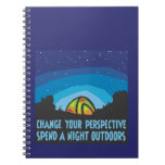 Tent Camping Note Books