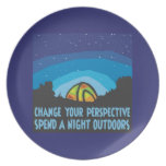 Tent Camping Plate