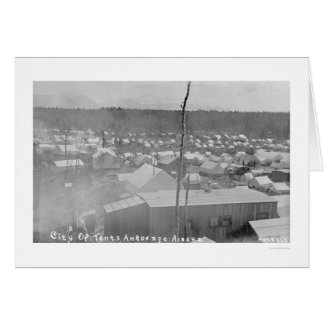 Tent City Anchorage, Alaska 1905 Cards