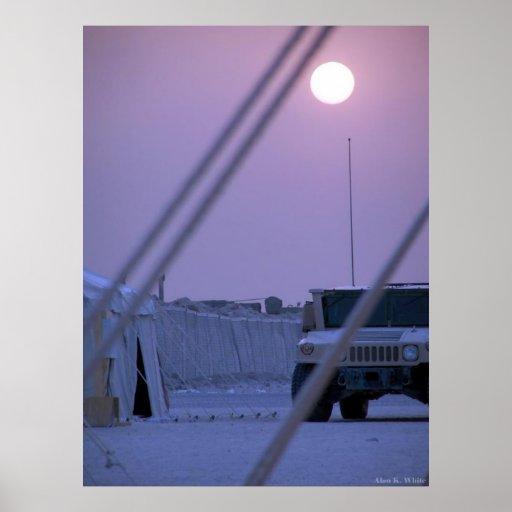 Tent City Kuwait Print