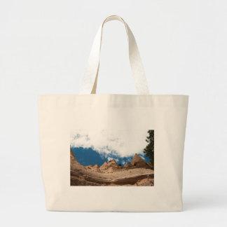 Tent Rocks Mountains New Mexico Jumbo Tote Bag
