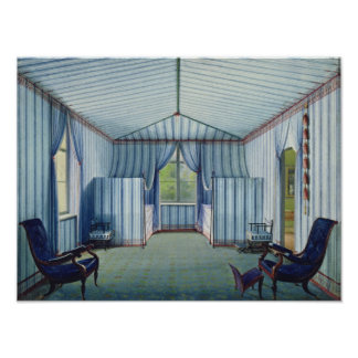 Tent Room, after 1830 Poster