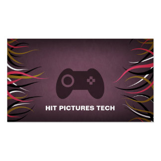 Tentacle Hall Technology Gaming Software Cards Pack Of Standard Business Cards