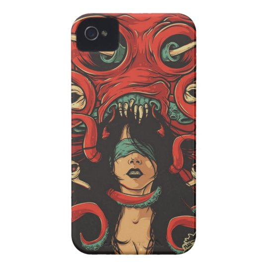 Tentacles iPhone 4 Covers