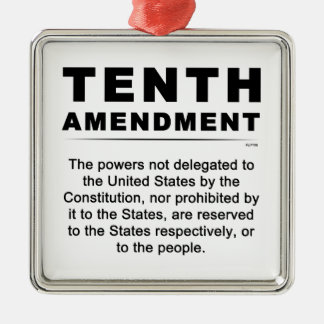 Tenth Amendment Christmas Ornament