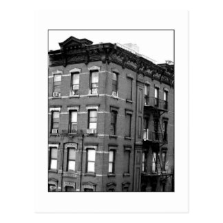 'Tenth Avenue Tenement' Postcard