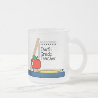 Tenth Grade Teacher (Notebook) Mug