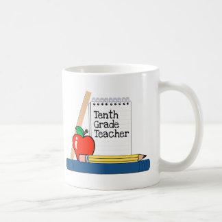 Tenth Grade Teacher (Notebook) Coffee Mugs