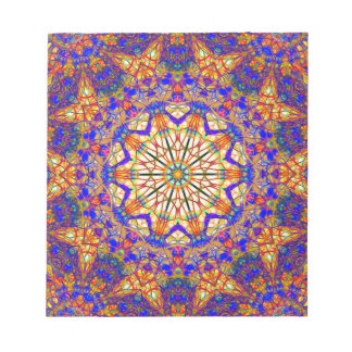 Tenth Mandala Of Life For A Rosy Spring Notepad