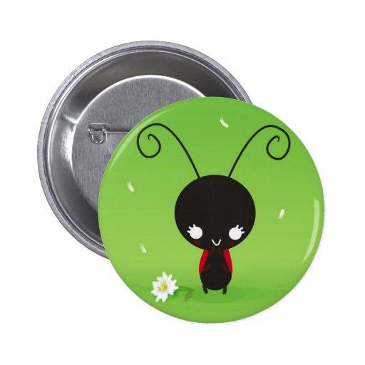 Tentoumushi 6 Cm Round Badge