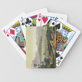 Teocalli, the Great Temple at Tenochtitlan, Mexico Bicycle Playing Cards