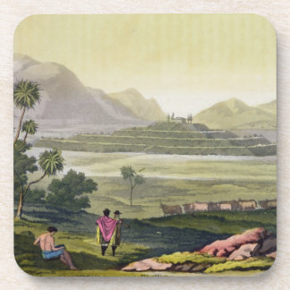 Teocalli, the Great Temple at Tenochtitlan, Mexico Drink Coasters