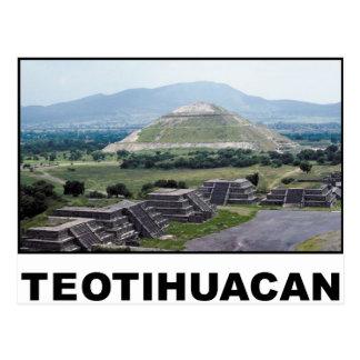 Teotihuacan Postcard