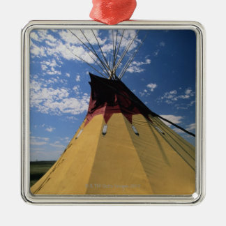 Tepee near Little Bighorn Battlefield Christmas Ornament