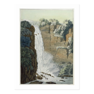 Tequendama Waterfall on the Bogota river, Colombia Postcard
