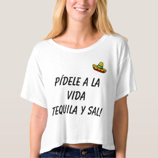 Tequila and salt T-Shirt